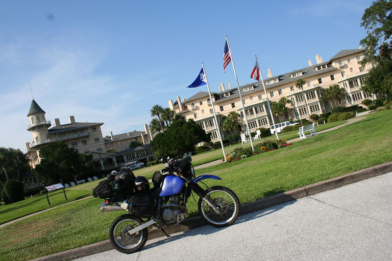 The Jekyll Island Club Hotel where planning of the Federal Reserve Act is reported to have secretly taken place.