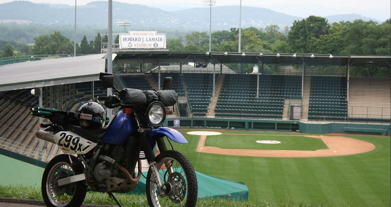 Howard J. Lamade Stadium in Williamsport Pennsylvania - where the Little League World Series is played each year